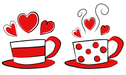 Valentine's Day Coffee Cups