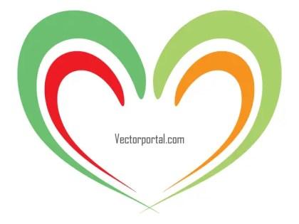 Heart Logo Vector Art
