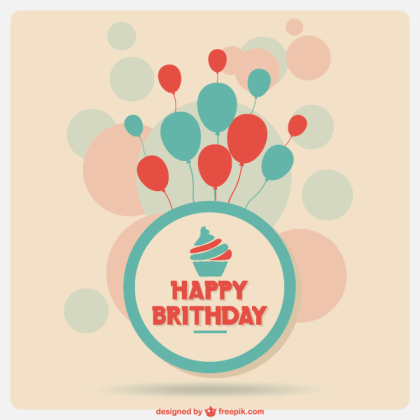 Free Anniversary Card Template