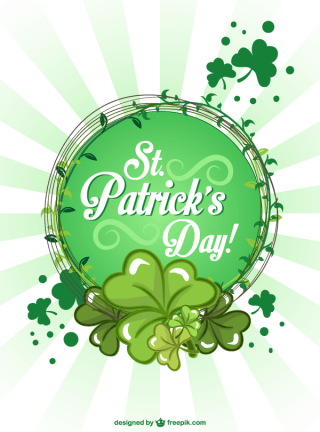 St. Patrick's Day Poster Design Template