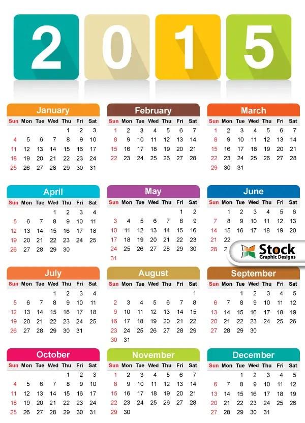 free calendars 2015