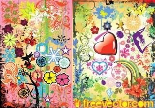 Floral Vector Pack Illustrator