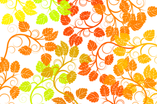 Free Floral Colorful Background Vector