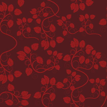 Free Seamless Floral Wallpaper Vector
