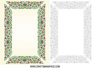 Chinese Border Ornament Frame Free Vector