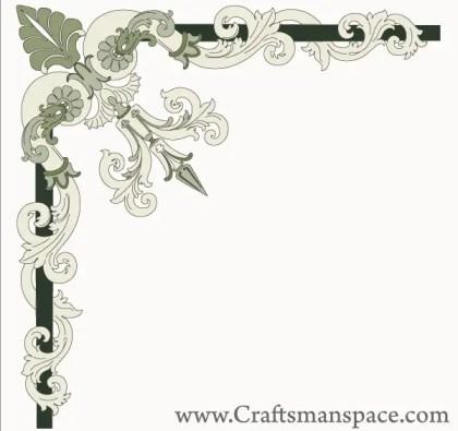 Border Corner Ornament Free Vector Graphics