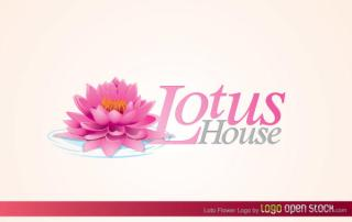 Lotus Flower Logo Vector Free