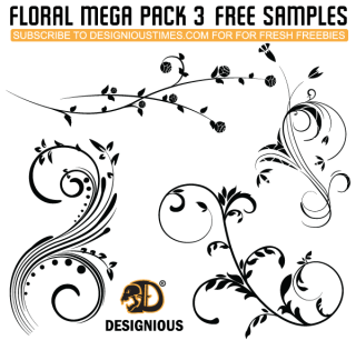 Vector Flourish Free Pack