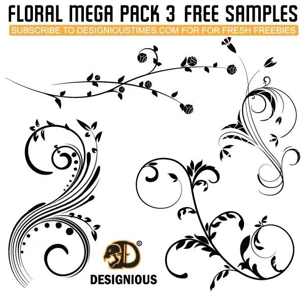 Vector Flourish Free Pack