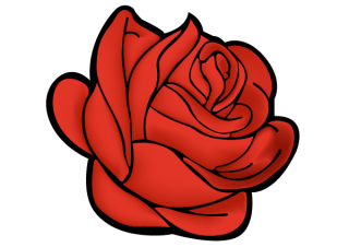 Red Rose Vector Art