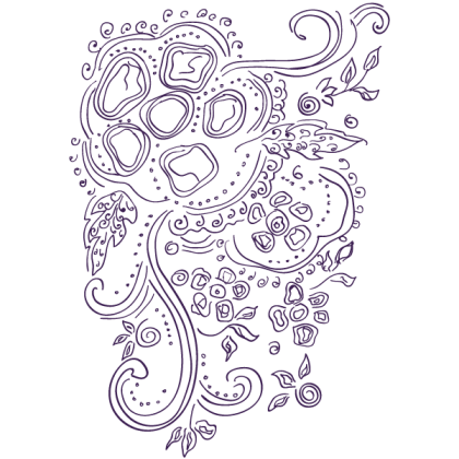 Russian Indian Pattern Vector Graphics