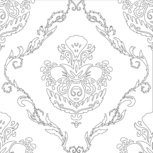 Free Svg Floral Wallpaper Pattern