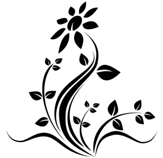 Flower Tattoo Design Vector