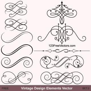 30 Decorative Lines Vectors Download Free Vector Art Graphics