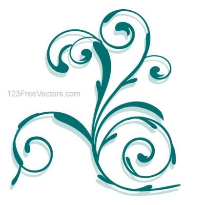 Vector Floral Ornamental Design