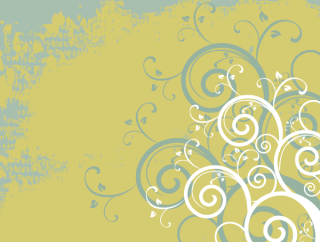 Autumn Swirls Background Illustrator