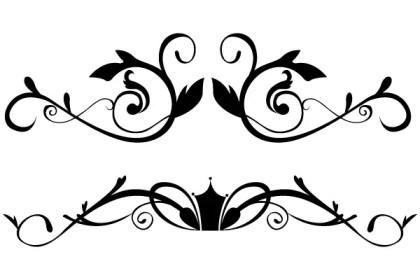 Vector Floral Design 3