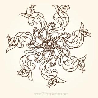 Hand Drawn Flower Designs