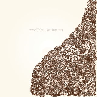 Hand Drawn Floral Download