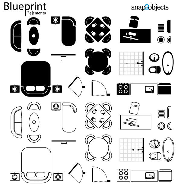 Vector Blueprint Elements