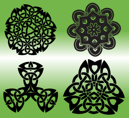 Free Vector Celtic Elements