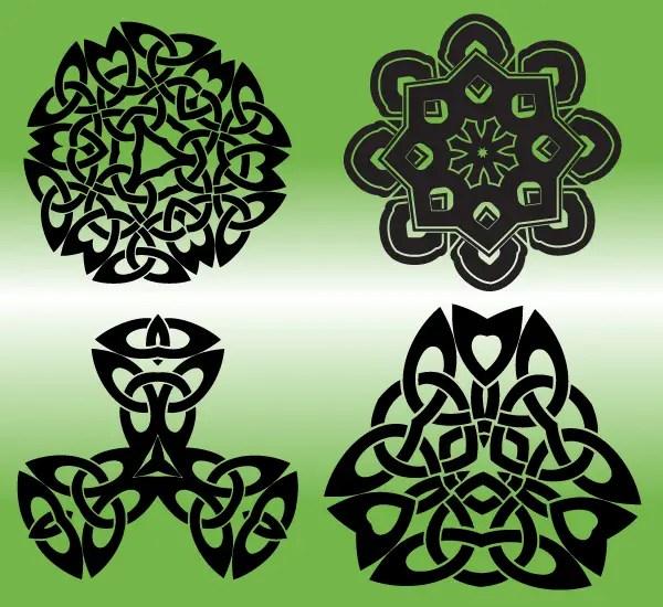 Free Vector Celtic Elements