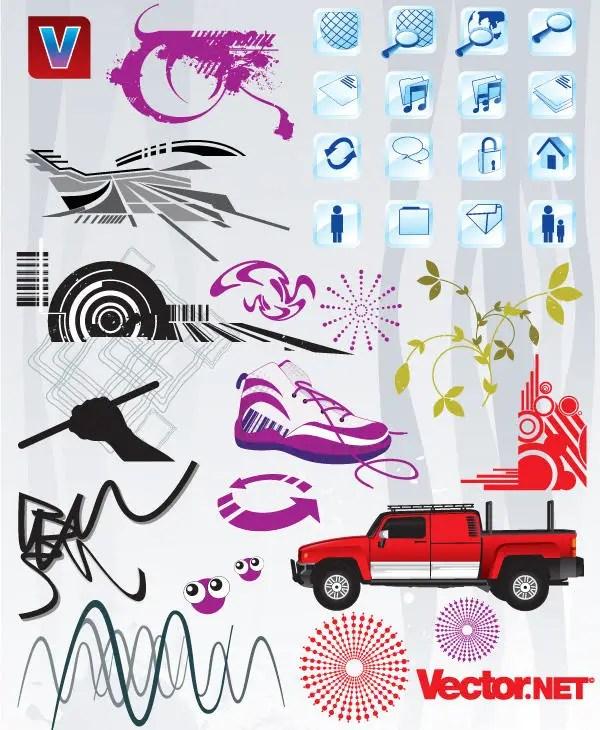 Free Vector Art Design Pack