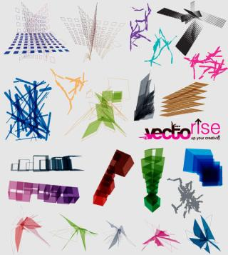 Vector Abstract Shapes Free Download