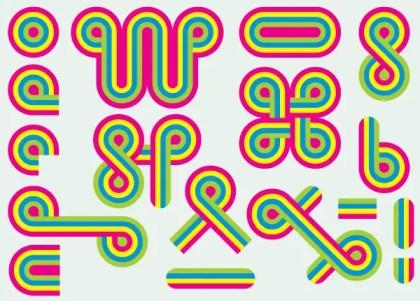 Color Shapes Vector Graphic Design Elements