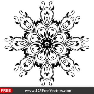 Vector Ornate Flourish Design Element