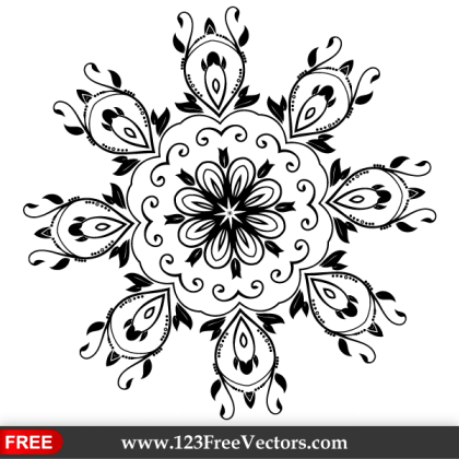 Ornate Design Elements Vector Graphics