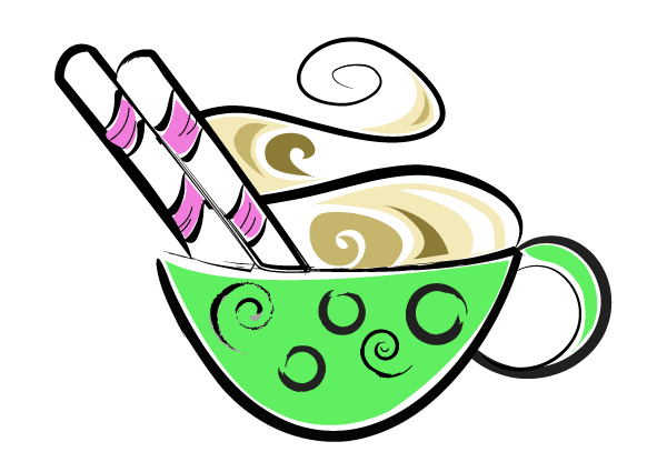 Cup of Hot Chocolate Vector Clip Art