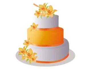 Pastel Cake Vector Art Free
