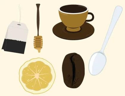 Tea and Coffee Vector