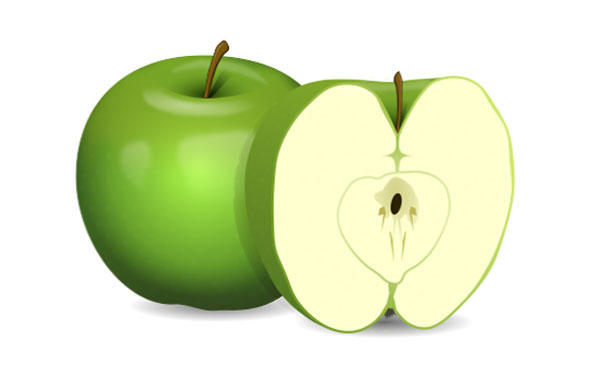 Green Apple Clip Art Free