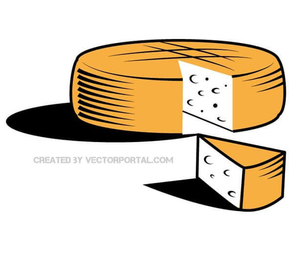 Cheese Vector Clipart