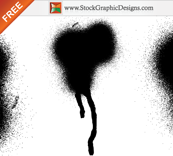 Paint Splash Free Vector Designs