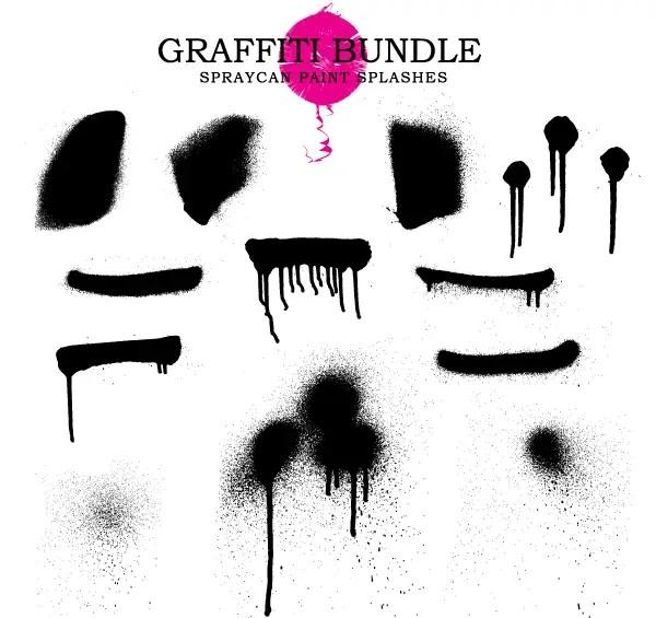 Free Grunge Paint Splatter Vector Graphics