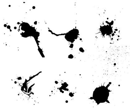 Paint Splash Vector Free