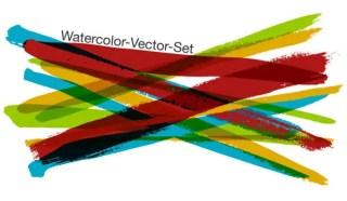 Free Watercolor Vector Set