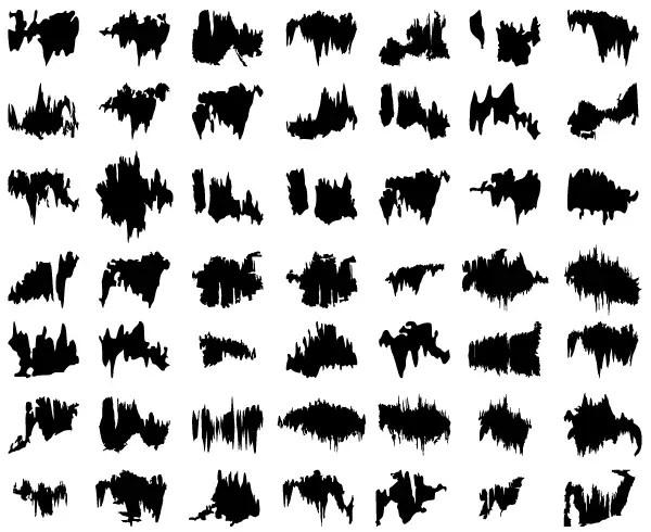 Free Grunge Edges Vector Art