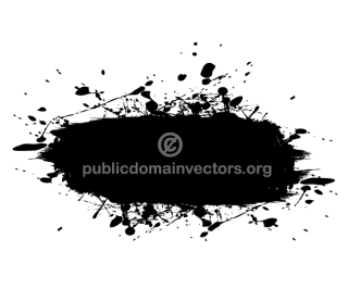Ink Splatter clip art
