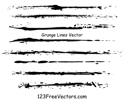 Grunge Lines Vector Illustrator