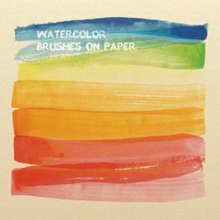 Watercolor Brushes Illustrator