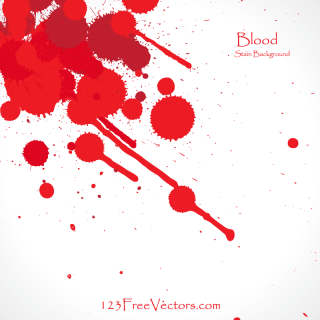 Blood Splatter Background