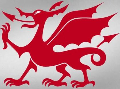 Welsh Dragon Vector Art