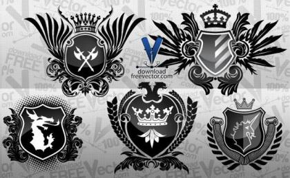 Free Vector Coat of Arms