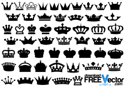 Crowns Vector Free