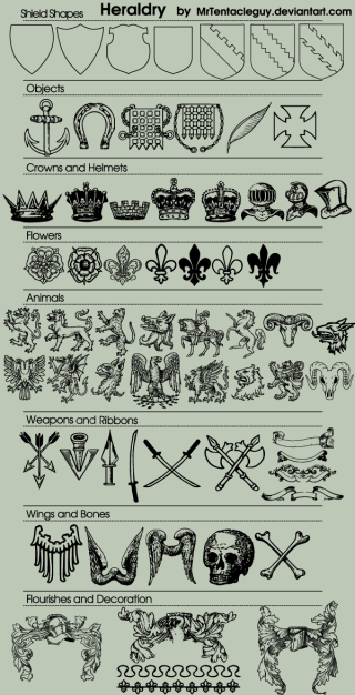 70 Heraldic Vector Free Download