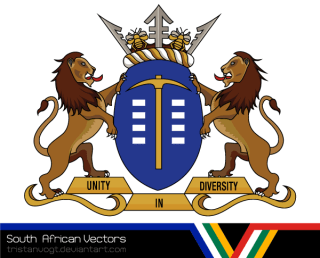 South African Vectors – Gauteng Coat of Arms